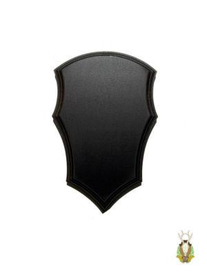 Bukkeplade formet som et våbenskjord