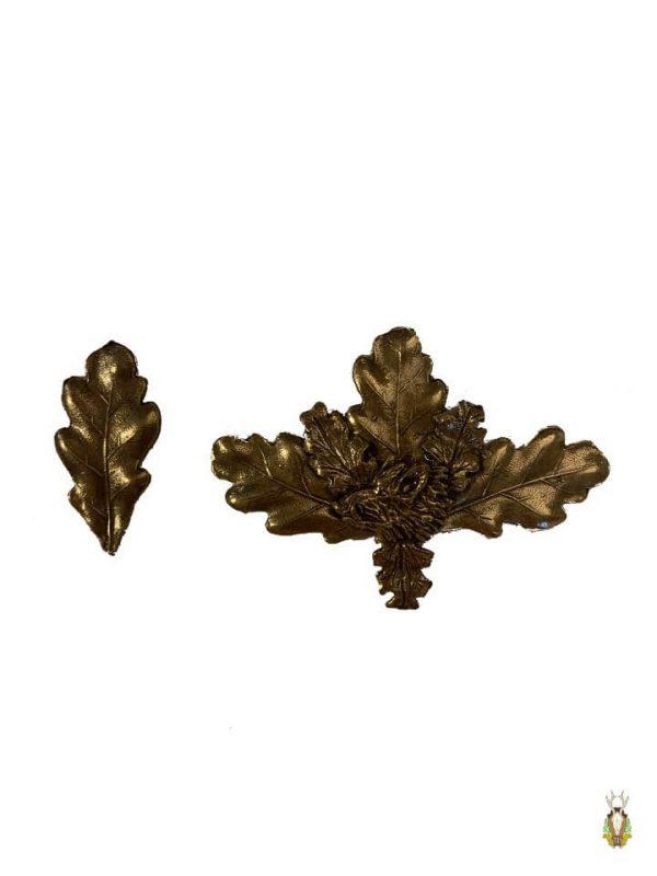 Egeløv Bronze med vildsvinemotiv (Lille)